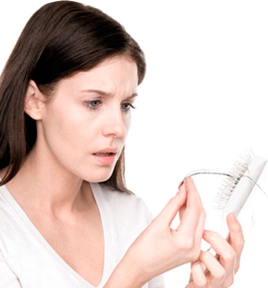 выпадение волос от алопеции inteli