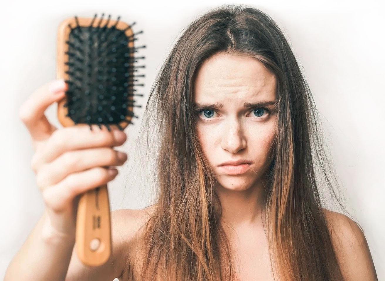выпадение волос inteli